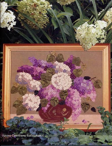 çiçek işlemeli tablo modeli