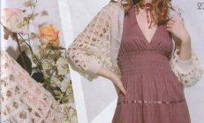 Yeni Sezon Örgü Bayan Bolero Modelleri