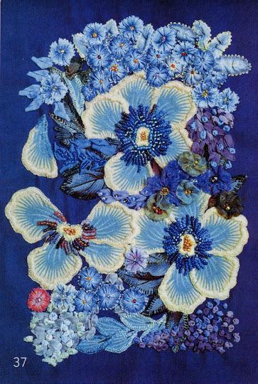 örgü çiçek süsleri yapımı