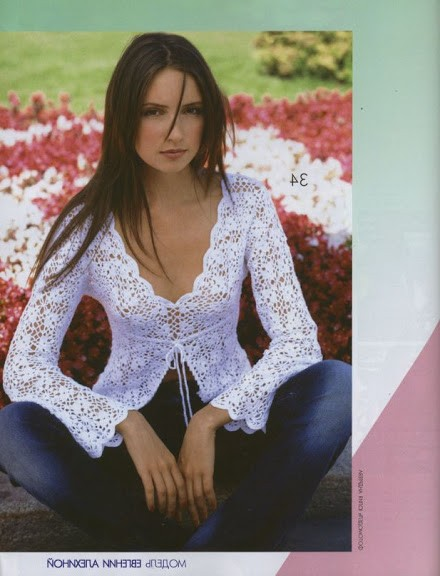 örgü bayan bluz modeli