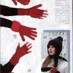 şapka eldiven modeli