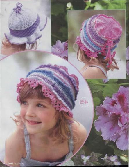 şirin çocuk şapka modelleri