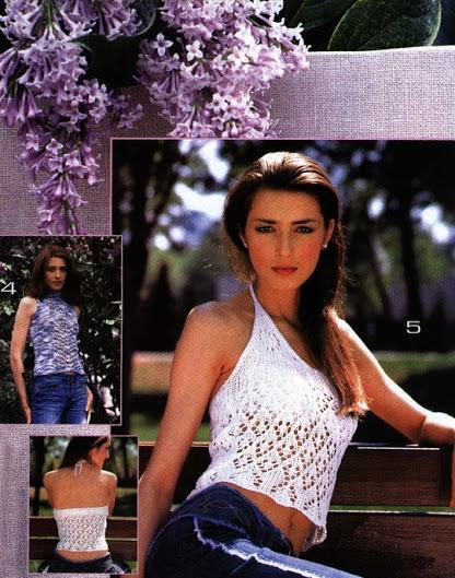 boyunda naskılı beyaz renkli bluz modeli