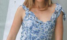 Gösterişli Dekolteli Örgü Bayan Bluz Modelleri