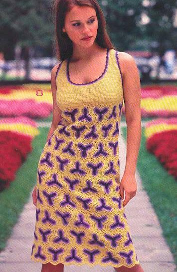 göğüs dekolteli ik renkli kolsuz elbise modeli