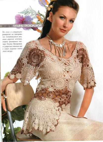 geniş yakalı tunik modelli örgü bayan bluz modeli