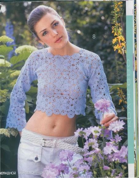 kısa bluz modeli
