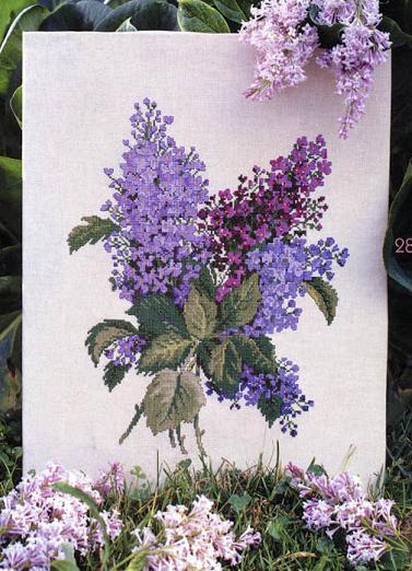 kaneviçe çiçek işleme modelleri