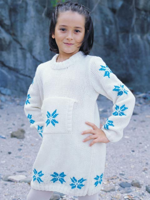 kanguru cepli çocuk elbise modeli