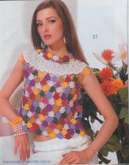 renkli bluz modeli