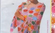 2013 Trend Örgü Bayan Şal Modelleri