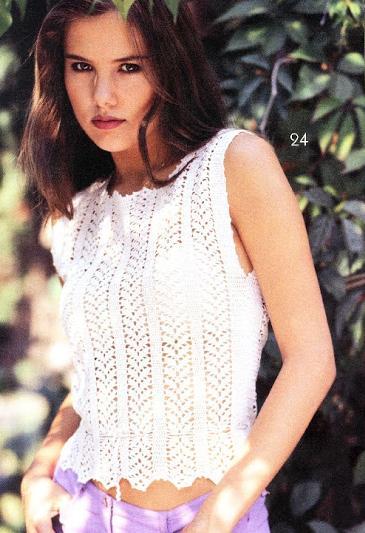 sıfır kollu beyaz renkli ip kemerli bluz modeli