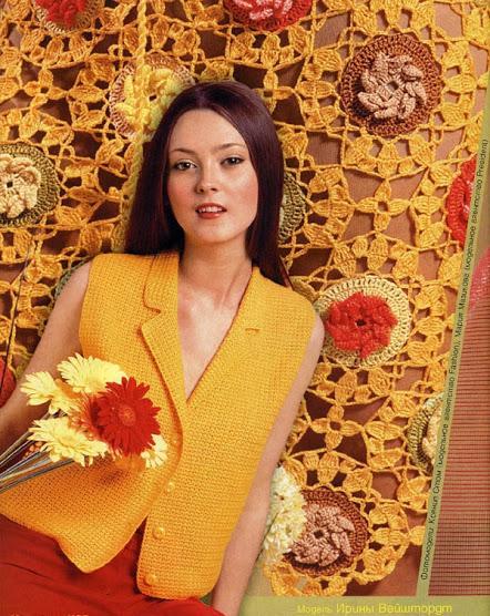 sarı renkli ceket yakalı yelek modeli