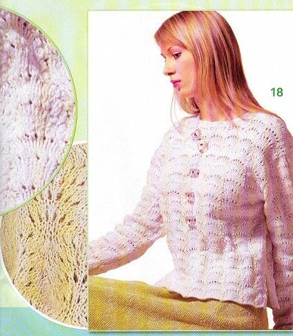 uzun kollu delikli ebruli ip bayan kazak modeli