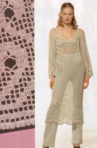 v yakalı boydan dantel desenli elbise modelleri