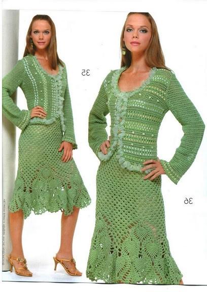 yeşil renkli şık örgü baya nhırka modeli