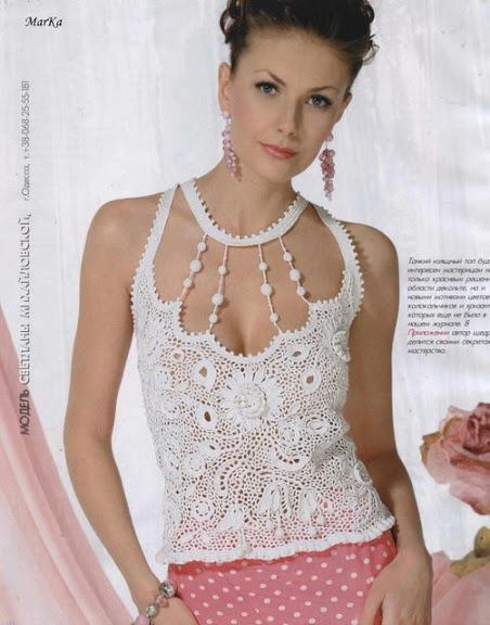 Best Crochet Pattern Maker : zarif ?rg? bayan bluz modelleri