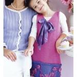 çocuk bluz ve hırkla modelleri