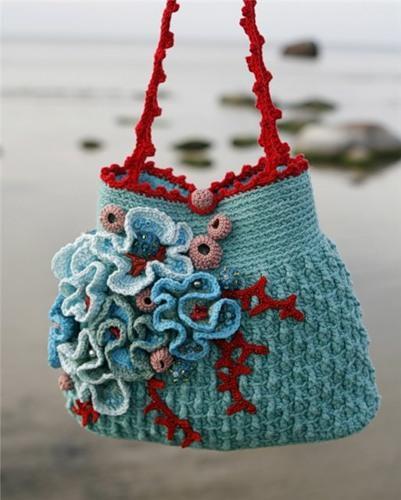 örgü bayan yazlık çanta modelleri