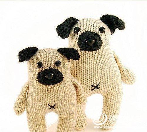 örgü köpek yapılışı modelleri
