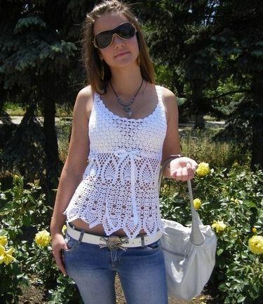 beyaz askılı bluz modeli