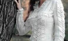 En Güzel Örgü Bayan Takım Modelleri