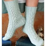 delikli örgü kısa çorap