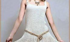 2013 Modası Bayan Örgü Elbise Modelleri