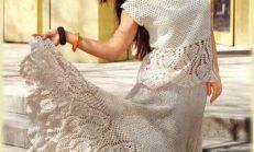 Son Moda Bayan Örgü Etek ve Elbiseleri