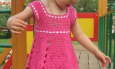 Kız Çocuk Yazlık Örgü Bluz Modelleri