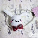 keçe ile yapılan tavşan kafası modelleri