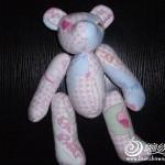 kumaş ile pembe panter oyuncak modeli