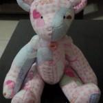 kumaş ile tasarlanan pembe panter oyuncak modeli yapımı