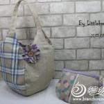 kumaştan tasarlanan el emeği çanta ve cüzdan modelleri