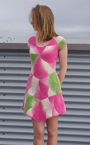 renkli örgü mini elbise modelleri