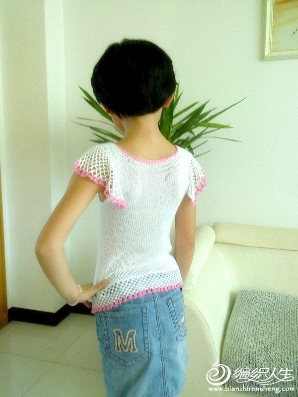 tığ ile örülen beyaz renkli bluz modelleri