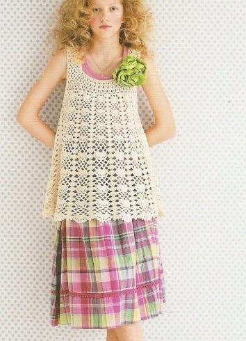 tunik şekilli desenli örgü uzun bluz modeli