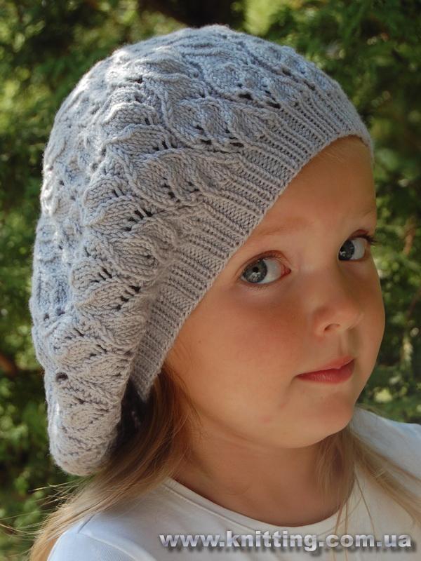 yaprak desenli delikli şapka modeli
