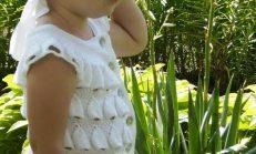 Rengarenk Desenli Bebek Örgü Modelleri