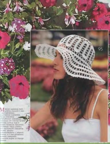 yazlık dantel örgü şapka modeli