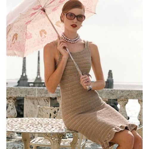 örgü kışlık elbise modelleri
