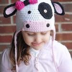 örgü kız çocuk şapkası modelleri