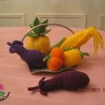 örgü sebze meyve modeli