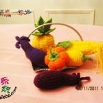 örgü sebze meyve modelleri