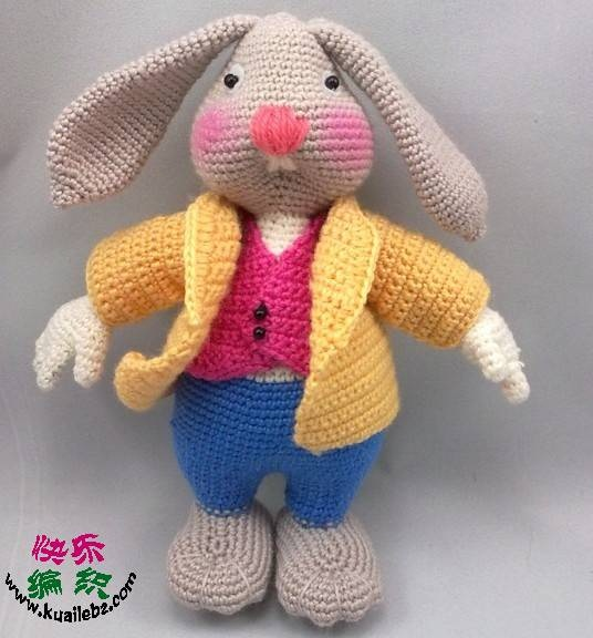 örgü tavşan ve kıyafet modelleri