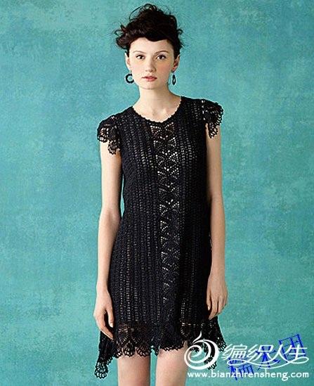 dantel siyah renkli mini elbise modeli
