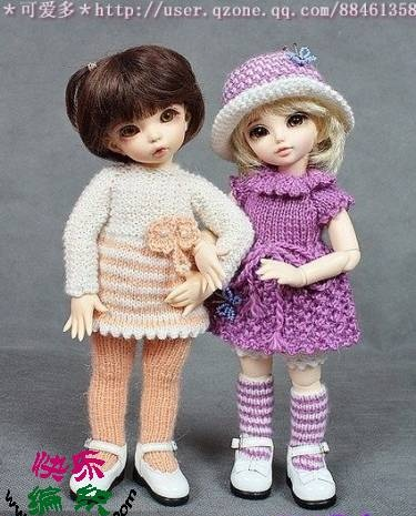 hazır oyuncaklar için örgü kıyafet modelleri