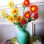 kumaş çiçek modelleri