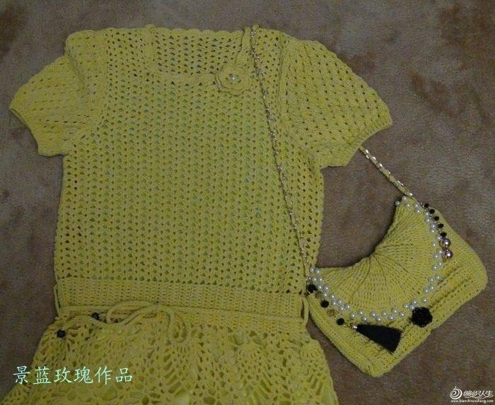 limon sarısı renkli dantel elbise modeli