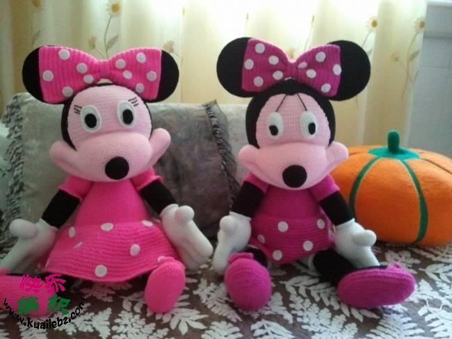 micky mouse örgü oyuncak modeli
